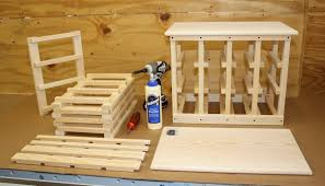 wood wine rack kits wooden plans build a bench hangariettav
