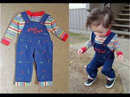 chucky costume toddler how to do a toddler chucky costume diy costume ideas