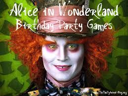 alice wonderland birthday party game ideas thepartyanimal blog