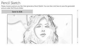 get pencil sketch microsoft store