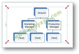 Membuat Struktur Organisasi Yang Menarik | cara mudah membuat struktur organisasi dengan smart art cara semua