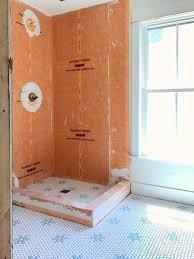 Tile Bathroom Walls by Beach House Progress Original Trim Doors And Lots Of New Tile
