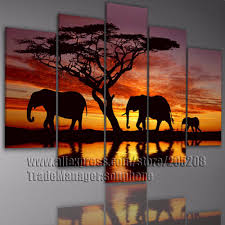 african art and wall decor buy framed 5 piece wall art large african painting africa canvas art