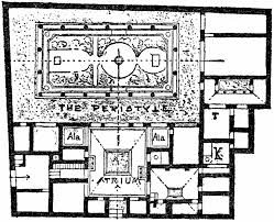 pompeii house plan arts
