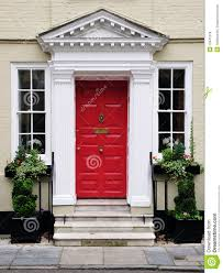 front door of a beautiful house royalty free stock photos image