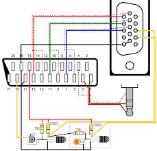 scart wiring diagram efcaviation com