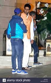 bollywood actor varun dhawan abhishek bachchan arrives mukesh
