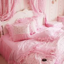 Princess Comforter Full Size Bedding Pretty Pinky Princess Bedding Ruffle Falbala Process
