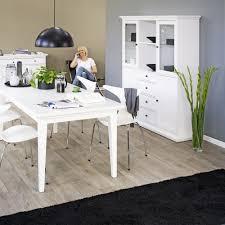 Esszimmer St Le F Runden Tisch Tvilum Landhaus Tischgruppe Paris 5tlg Weiß Günstig Kaufen