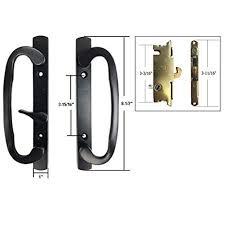 Keyed Patio Door Handle Stb Sliding Glass Patio Door Handle Set With Mortise Lock Black