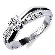 zasnubni prsten augustýna white excelentní zásnubní prsten v bílém zlatě brilas