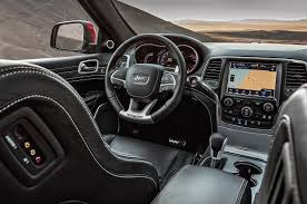 jeep grand cherokee interior 2018 2018 jeep grand cherokee trackhawk first test review power mad