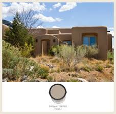 southwestern style homes colorfully behr southwestern style adobe homes