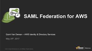 Federation U2013 Amazon Web Services Aws