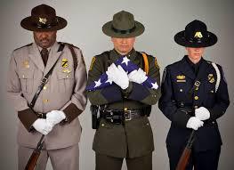 three uniforms working together u s customs border prot flickr