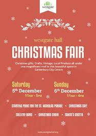 xmas fair u0026 craft fair weekend 5 6 dec westgate hall