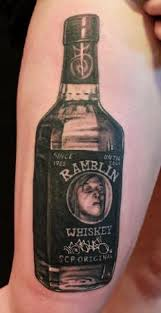 40 awesome whiskey tattoos for dark liquor lovers pics