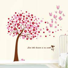 wall stickers uk wall art stickers kitchen wall stickers c2ww000047 com ws1010 walplus 3d butt pink ws6038 huge pink tree