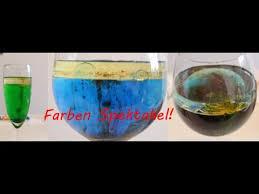 farben feuerwerk spektakel water oil food coloring experiment