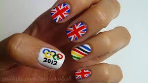 2012 olympics nail art youtube