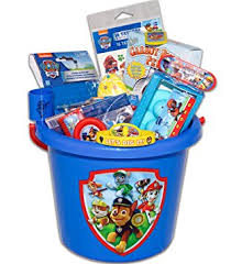eater baskets paw patrol easter basket toys and candy toys