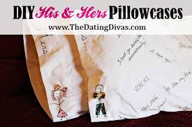 his and hers pillow cases his hers pillowcase tutorial