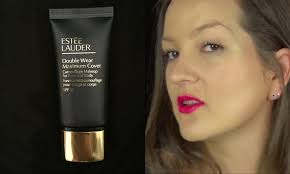 estee lauder double wear maximum cover 11 very light estee lauder double wear maximum cover foundation review youtube