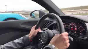 nissan gtr vs audi r8 audi r8 v10 plus vs porsche 911 turbo s race on the highway