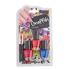 nail art design kit graffiti la cosmetics