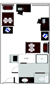 mississippi state university dorm room layout griffis hall