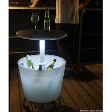 Wohnzimmer Bar Beleuchtet Partytisch Mit Kühlfunktion Beleuchtet Tepro Cool Bar Garten