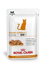 senior consult stage 2 high calorie royal canin vet care nutrition cat food senior consult stage 1