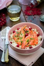 cuisine au gingembre riz coco et crevettes marinées gingembre combava coriandre