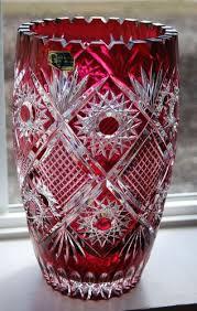 Antique Cranberry Glass Vase 45 Best Cranberry Glass Images On Pinterest Cranberry Glass