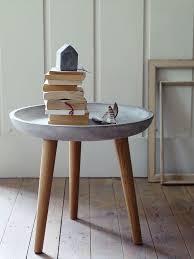Concrete Side Table Concrete Side Table Great Tables