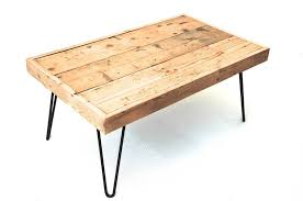 industrial hairpin leg desk billy coffee table with hairpin legs by renn uk notonthehighstreet com