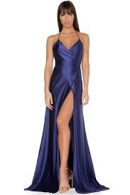 evening gown evening gown navy antidote la