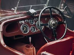 vintage aston martin interior aston martin second series new international le mans 1932 1934