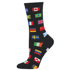 Flag Of The World Flags Of The World Crew Socks U2013 Modsock