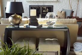 Decorating A Sofa Table Black Sofa Table Decor Thedigitalhandshake Furniture