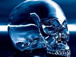 imagenes de calaveras que cambian de color el cráneo de cristal la conexión con el pensamiento puro y el