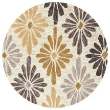 Gold Rugs Contemporary Round Contemporary Rugs Roselawnlutheran