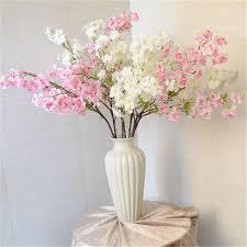 flower decorations 1pc lot artificial cherry blossom flower househodl