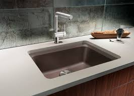 Blanco Undermount Sinks Blanco Diamond Undermount Composite  In - Blanco silgranit kitchen sink
