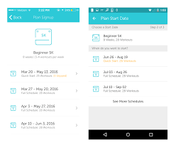 runkeeper training plans and custom workouts