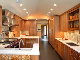 modern kitchen with warmth therese kenney hgtv