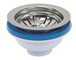 Kitchen Sink Drain Basket 115mm Stainless Steel Strainer Basket For Kitchen Sink Basin Drain