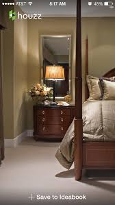 how tall are nightstands tall mirror over nightstand opens up the room luxurious retreats