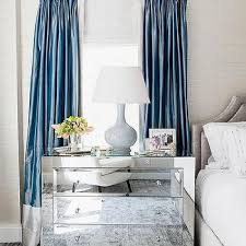 Blue And Gray Bedroom Gray And Blue Curtains Design Ideas