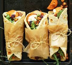 vegan thanksgiving wrap recipe redo